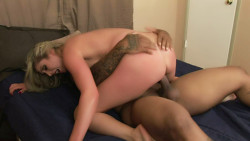 Kelly Malia gets her first taste of black cock